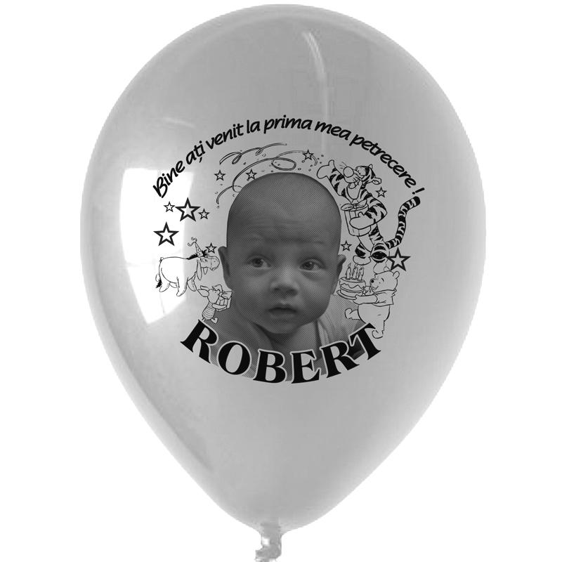 Baloane personalizate pentru botez