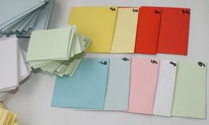 Plicuri colorate pe comanda