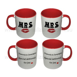 Cani Personalizate MR MRS RIGHT