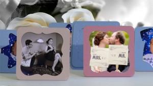 Mini rame foto, marturii pentru nunta si botez