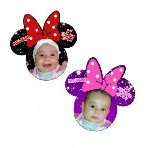 Magnet marturie botez Minnie Mouse