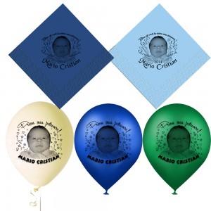 Servetele si baloane personalizate