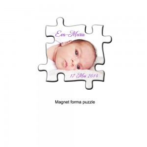 Magnet forma puzzle