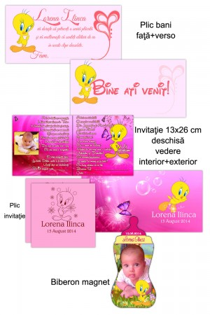 Invitatie Tweety Bird