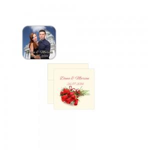 Marturii nunta trandafir