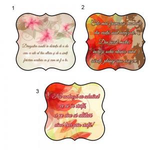 Marturie nunta florale