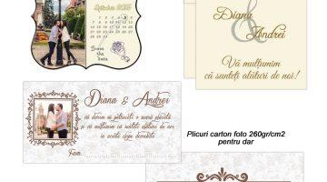 Marturii Si Place Carduri Nunta Vintage