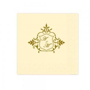 Servetele Crem Personalizate Pentru Nunta