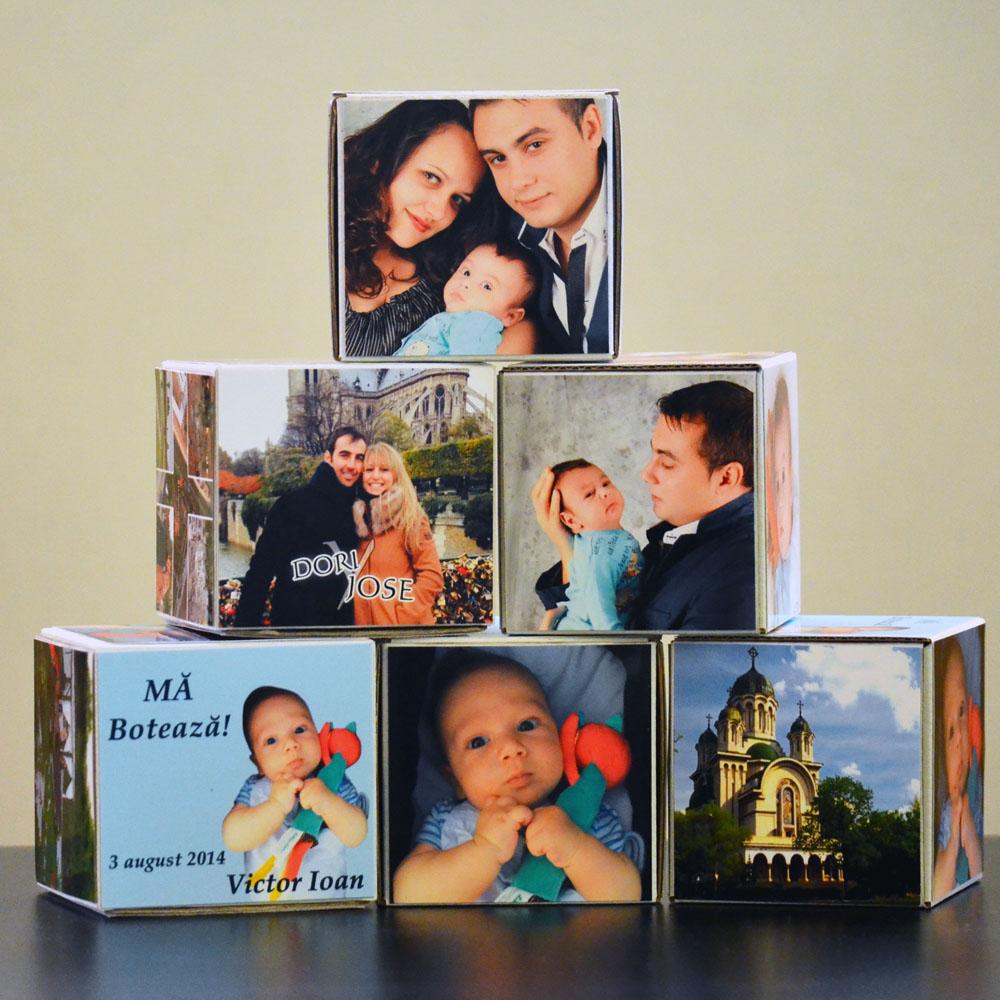 Cutiute cub personalizate cu fotografii