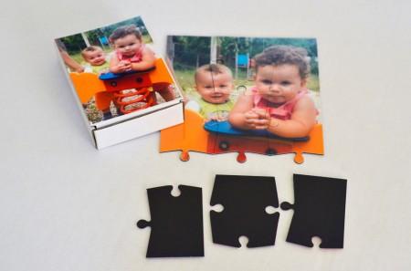 Puzzle Magnetic In Cutiuta Personalizata