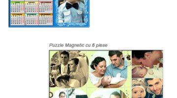 Cadou Calendar Si Puzzle Magnetic Personalizat