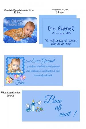 Marturii Albastre Si Place Carduri Albastre Pentru Botez