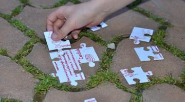 Invitatie Forma Puzzle