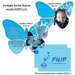 Invitatii Botez Fluture