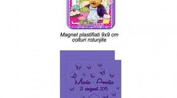 Magneti De Botez Cupcake
