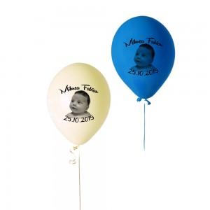 Baloane Colorate Cu Bebe Si Fluturasi