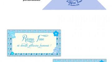 Servetele Personalizate Plicuri pentru bani Botez