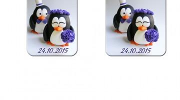 Magnet Cu Pinguini