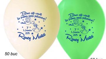 Baloane Botez cu Barza