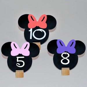 Numere De Masa Minnie Mouse
