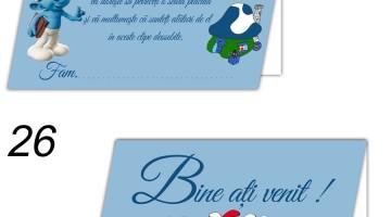 Plicuri Dar Personalizate Strumfi