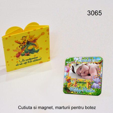 Cutiute si Magneti Marturii Personalizate Pentru Botez