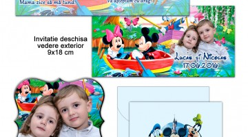 Invitatie Pentru Mot Disney