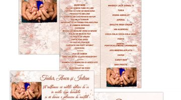 Plicuri Si Meniuri Personalizate Nunta Si Botez