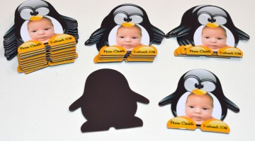 Magneti Pinguini Personalizati cu Fotografie