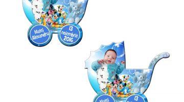 Marturii Botez Personalizate Disney