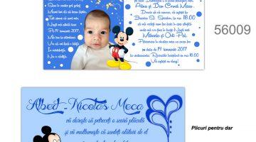 Invitatii Pentru Botez Mickey