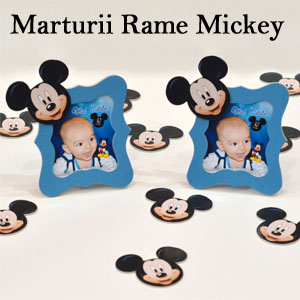 Marturii Botez Rame Mickey Mouse
