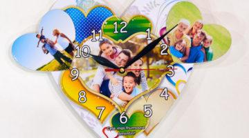 Ceasuri De Perete Forma Inima