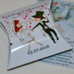 Invitatii Nunta Puzzle