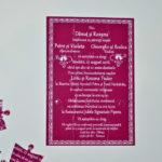 Invitatie Nunta Puzzle