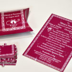 Invitatie Nunta Puzzle Grena