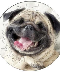 Puzzle Magnetic Rotund Personalizat Cu Fotografia Dorita