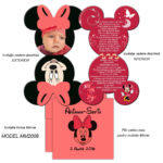 Invitatie Minnie Mouse MM2008