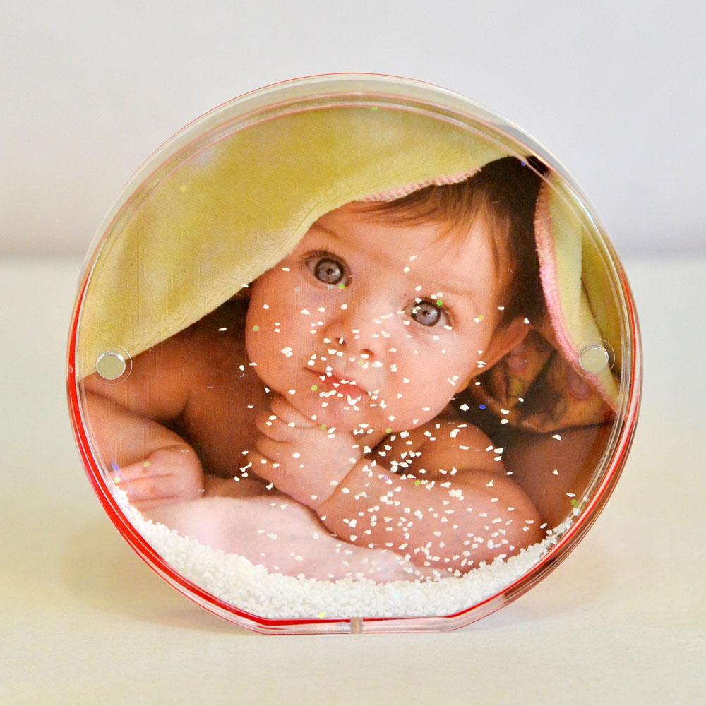 Glob Foto Zapada Rotund