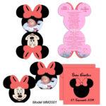 Invitatie Minnie Mouse MM2001