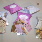 Invitatii Puzzle 9 Piese si Cutiuta Pillow carton Foto Lucios
