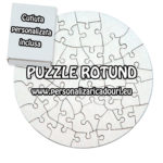 Puzzle Magnetic forma rotund