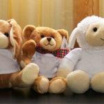 Ursulet, Oita, Iepuras de plus cu tricou personalizat