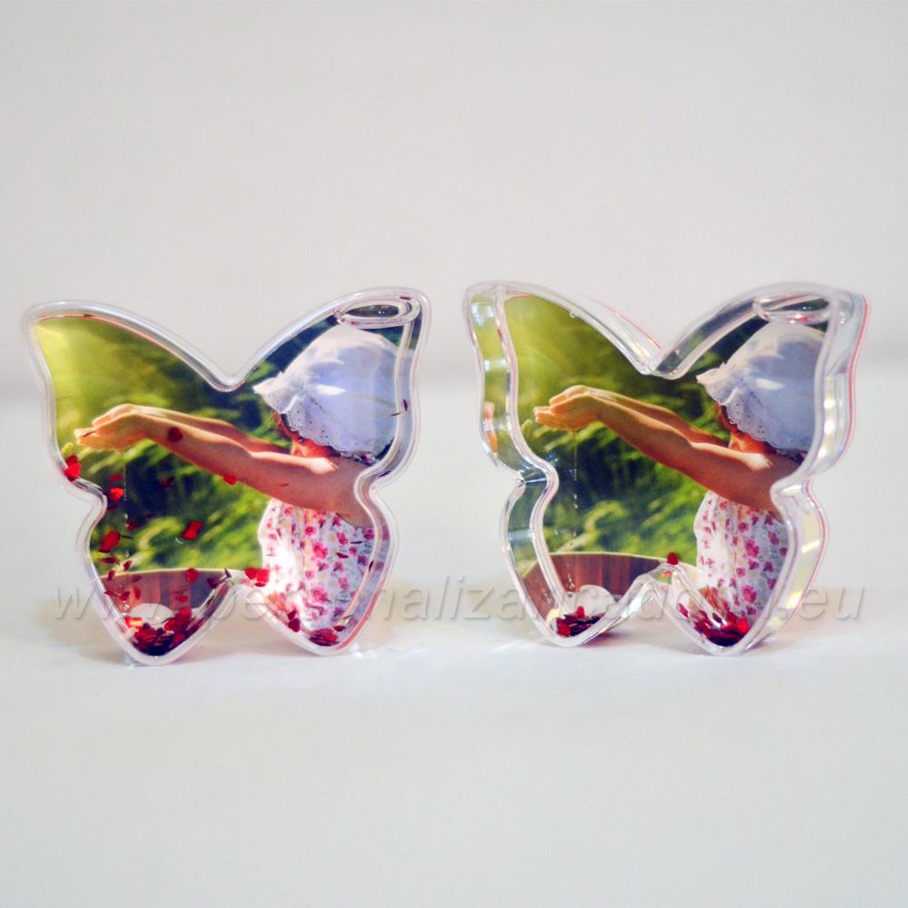 Glob Foto Inimioare Forma Fluture