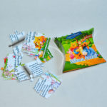 Invitatie puzzle 9 piese