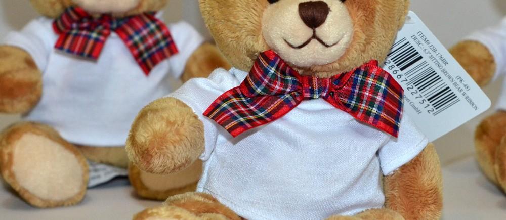 Ursulet Plus cu tricou Personalizat