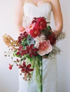 Toamna, intr-un buchet de flori