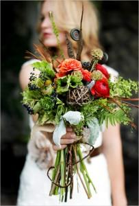 Toamna, intr-un buchet cu flori