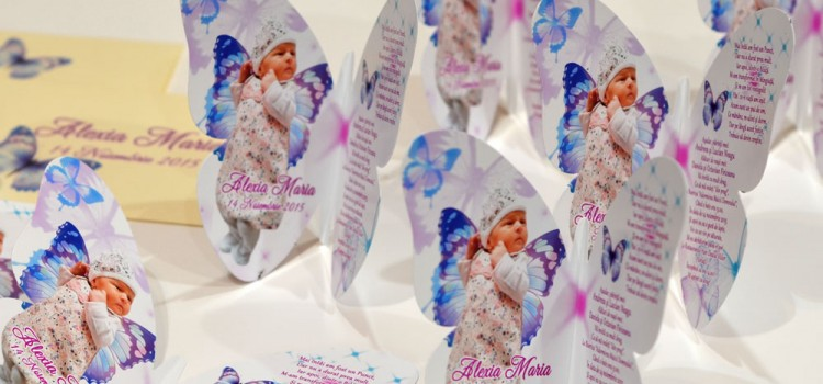 Invitatie Personalizata forma Fluture