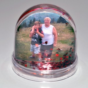 Glob led personalizat